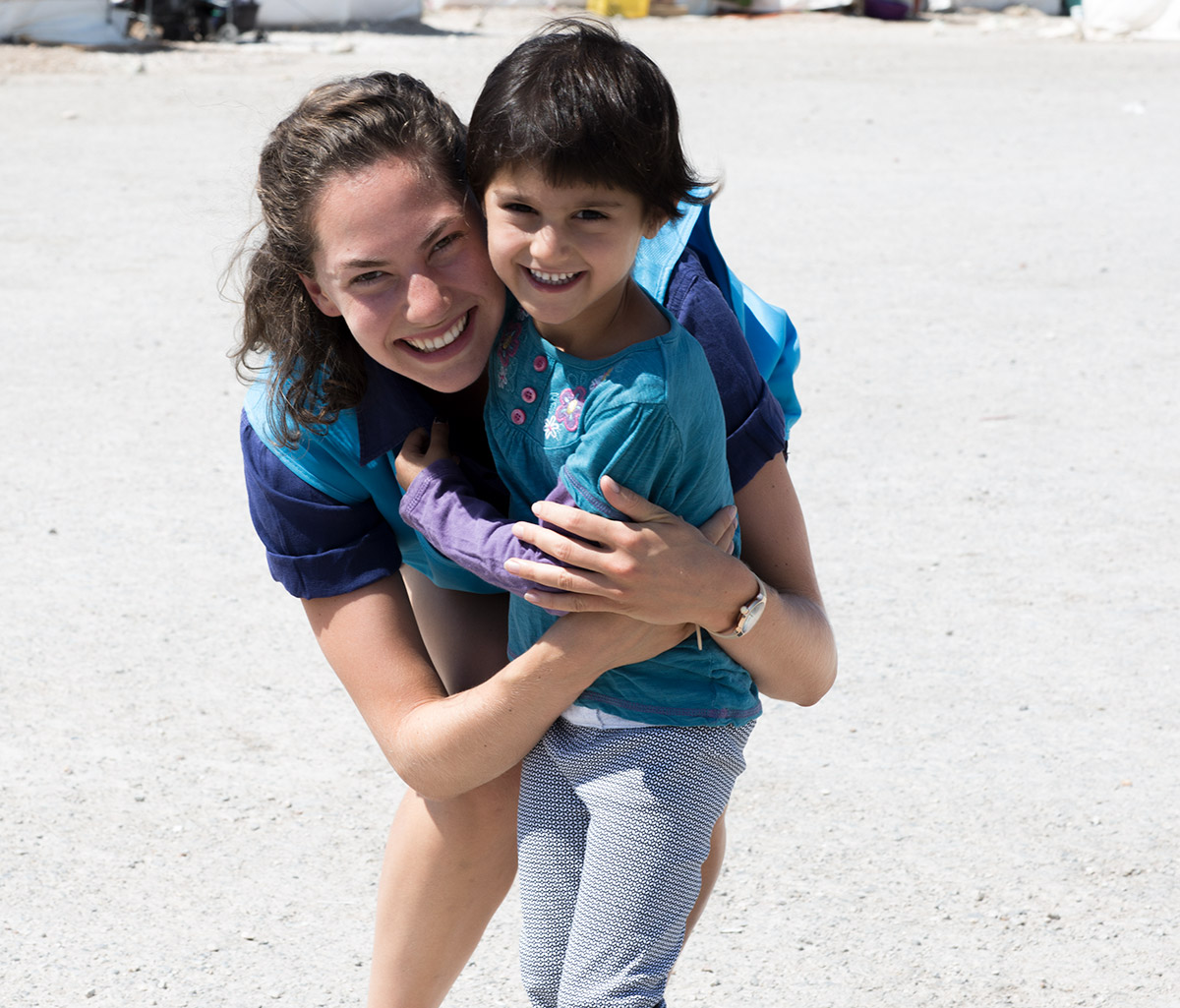 Emma Ferrer visits refugees in Greece | USA for UNHCR
