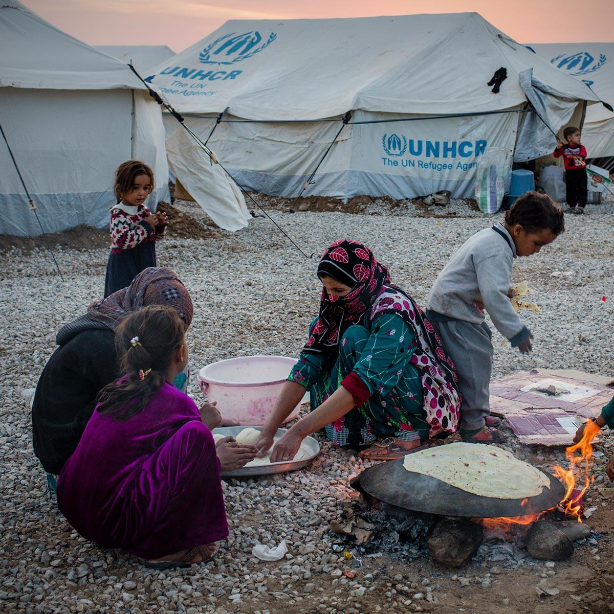 Image result for refugee camp images