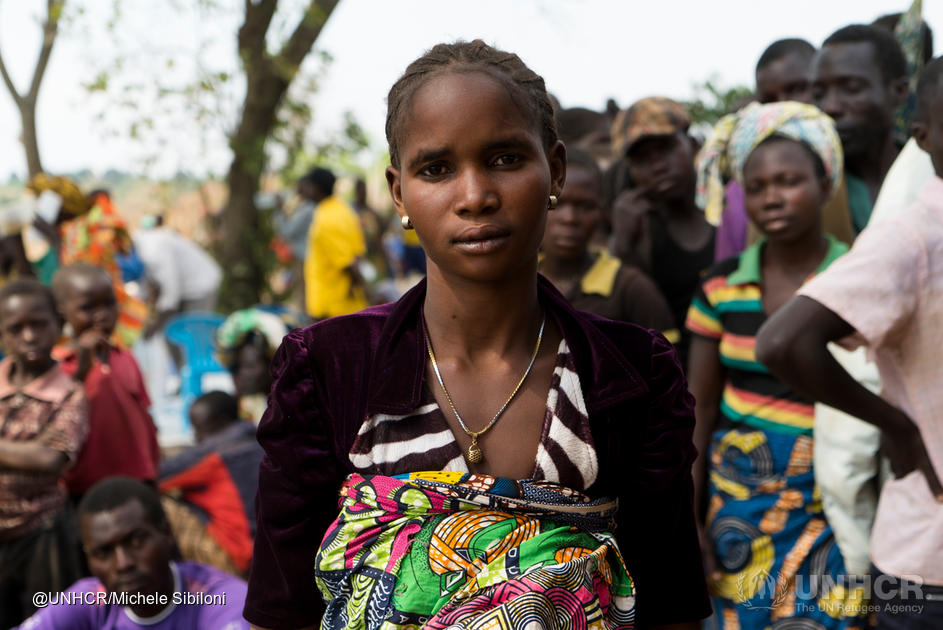 Sifa, age 20, Congolese mother in Uganda