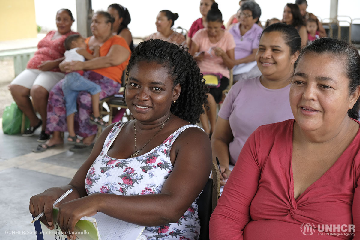 This UNHCR-supported safe space protects Honduran women who've fled gang violence that plagues their country.