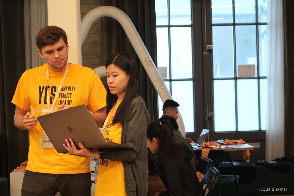 Volunteer Hackathon Yields Results for Refugees