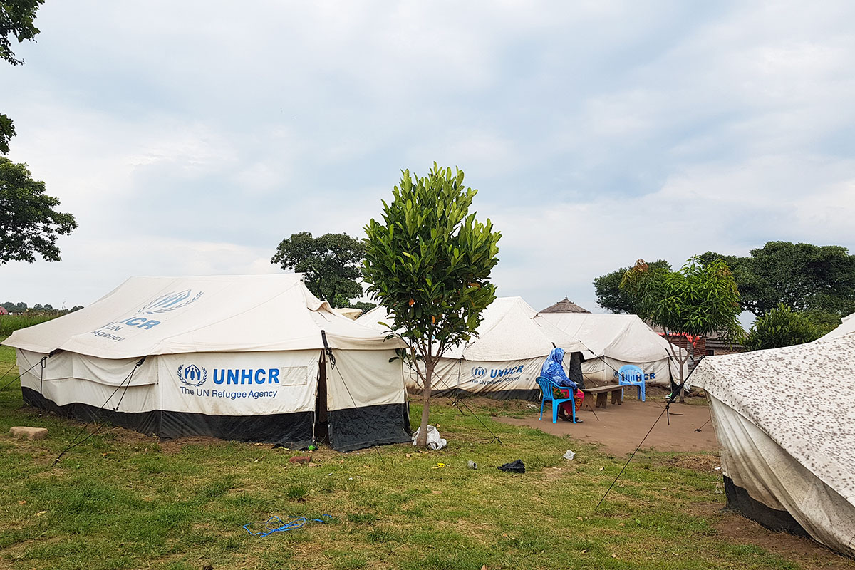 Ayiri Health Center is just a small cluster of tents at first glance, but it is so much more for families who live in Uganda's Maaji refugee settlement.