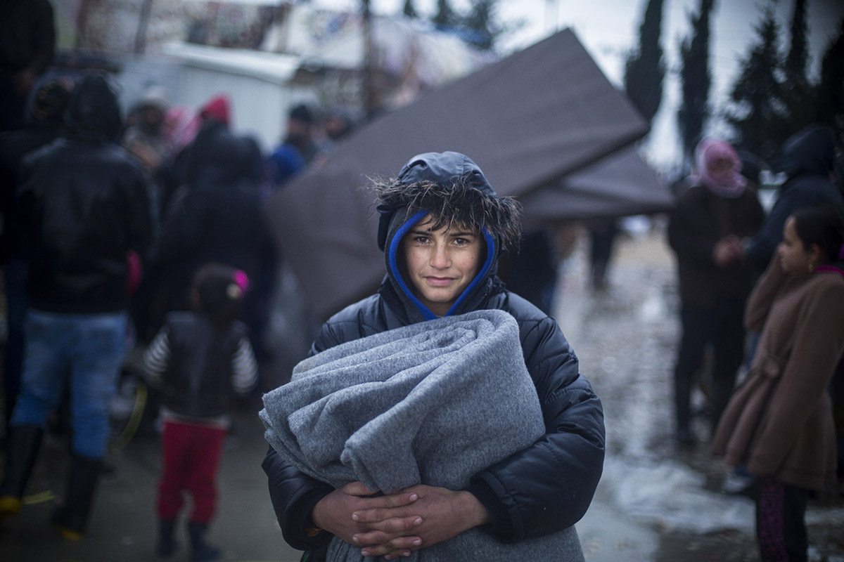 In Lebanon's Bekaa Valley, home to hundreds of thousands of Syrian refugees, temperatures drop below freezing and icy, stormy conditions make winter the toughest season to survive.