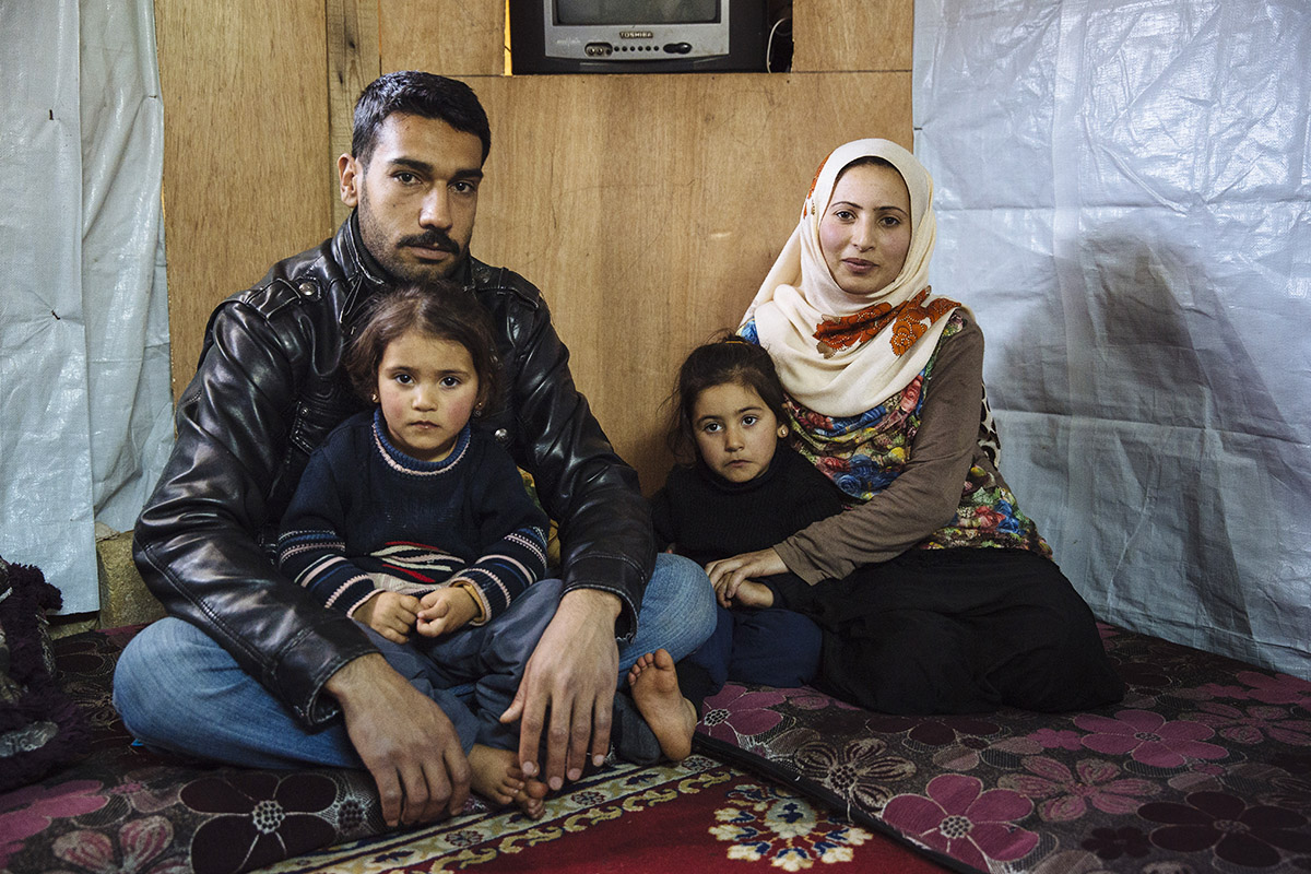 """It's like someone was drowning and was finally saved,"" is how Mahmoud described the winter relief items, including thermal blankets, that he and his family received thanks to generous Americans."