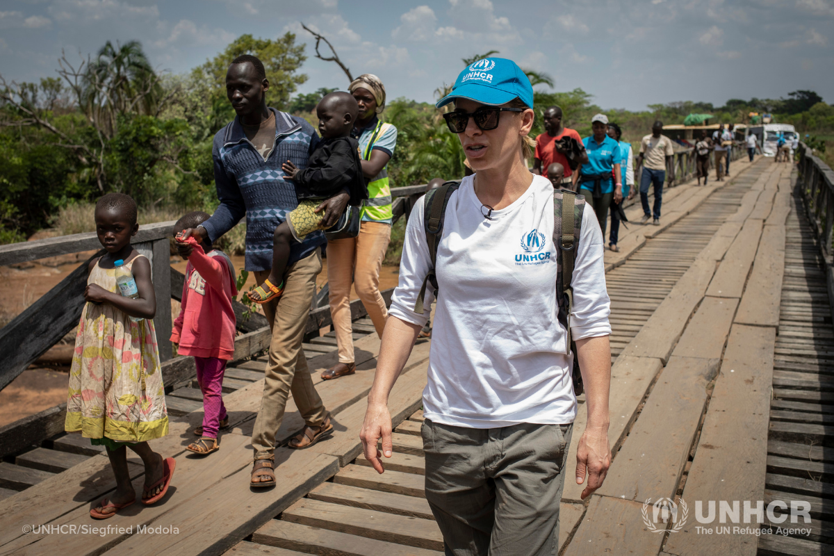 Jillian Michaels in the Democratic Republic of the Congo