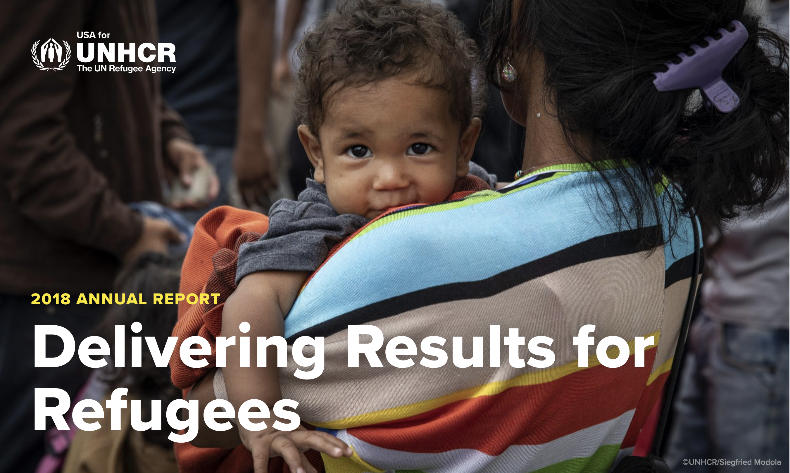 usa for unhcr 2018 annual report