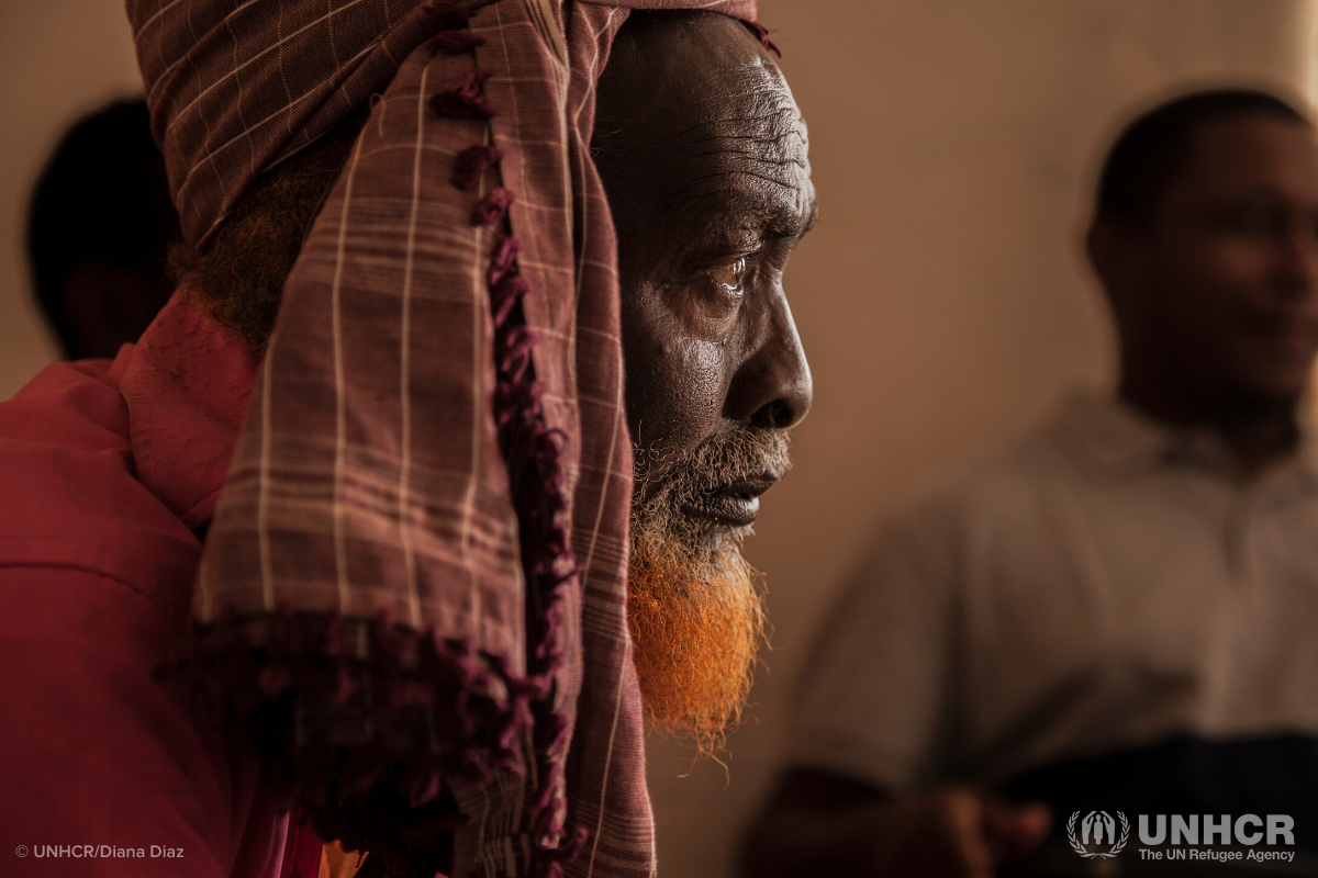 old Somali man with beard