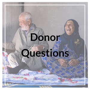 Donor Questions