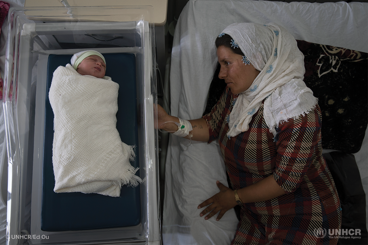 How midwives support the journeys of refugee mothers